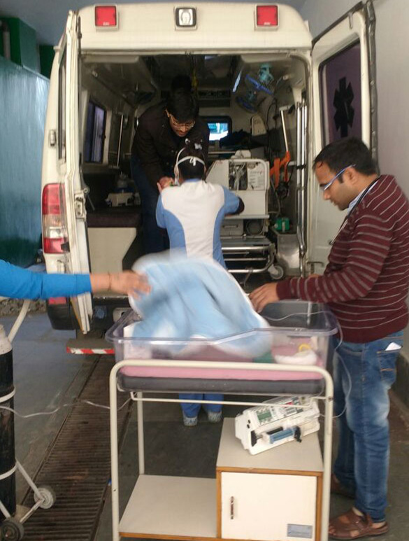 Pediatric and Neonatal Interfacility Transport Services