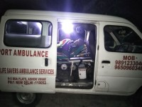 Ozanam Home Society Delhi. Providing them Free Ambulance Services