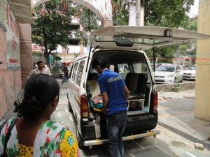 Road Ambulance Services Shifting Patient 13