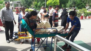 Road Ambulance Services Shifting Patient 9