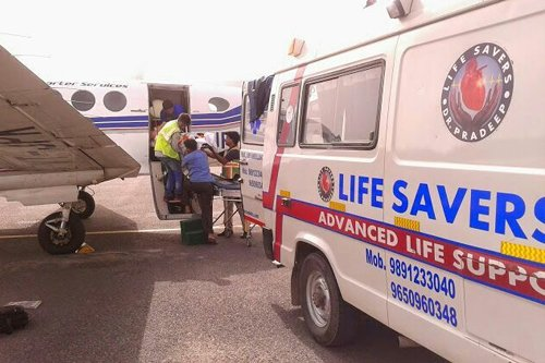 Life Savers Air Ambulance Services