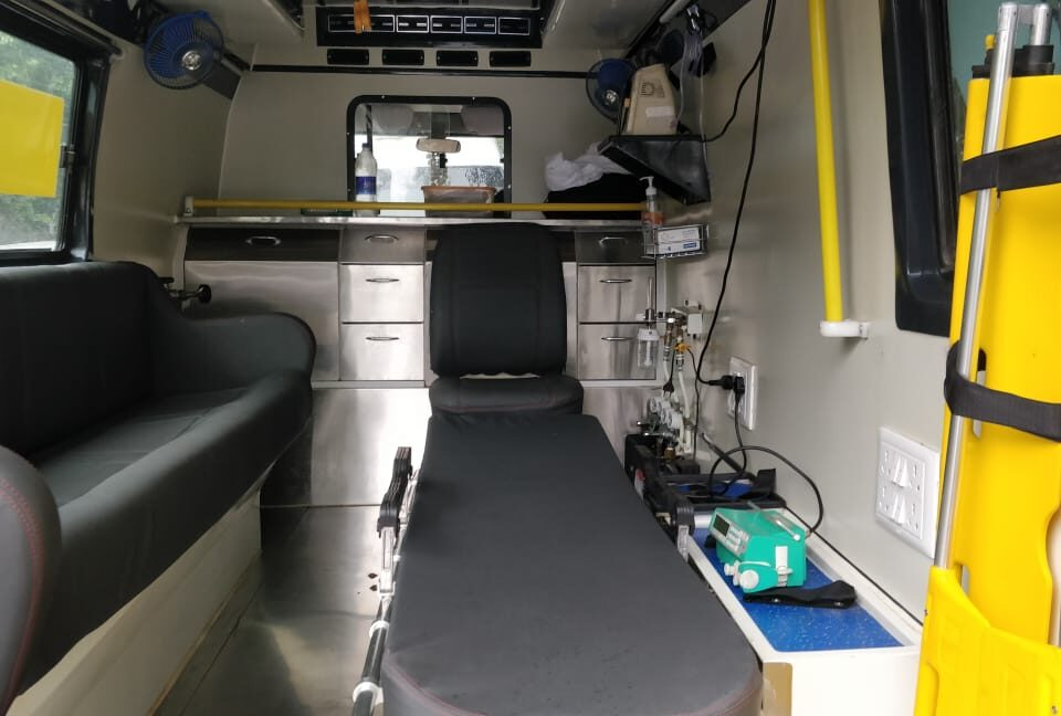 critical care ICU ambulance
