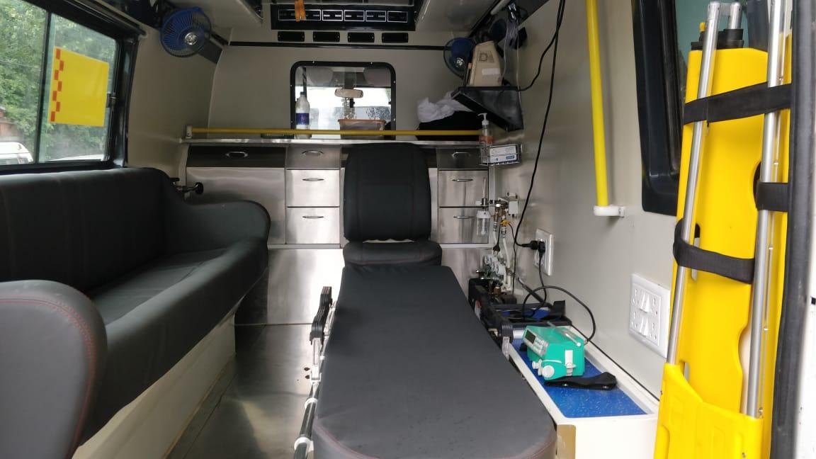critical care ICU ambulance