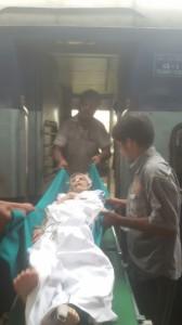 Train Ambulance Services Shifting Patient 1