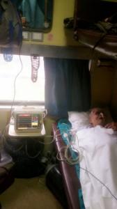 Train Ambulance Services Shifting Patient 4