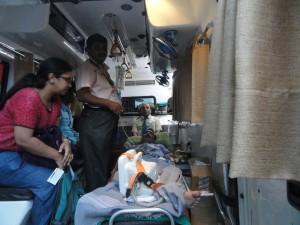 Road Ambulance Services Ambulance Interior 1