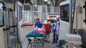 Road Ambulance Services Shifting Patient 11