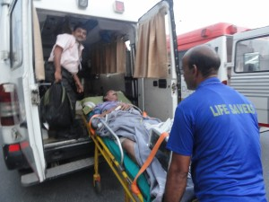 Road Ambulance Services Shifting Patient 12