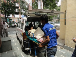 Road Ambulance Services Shifting Patient 14